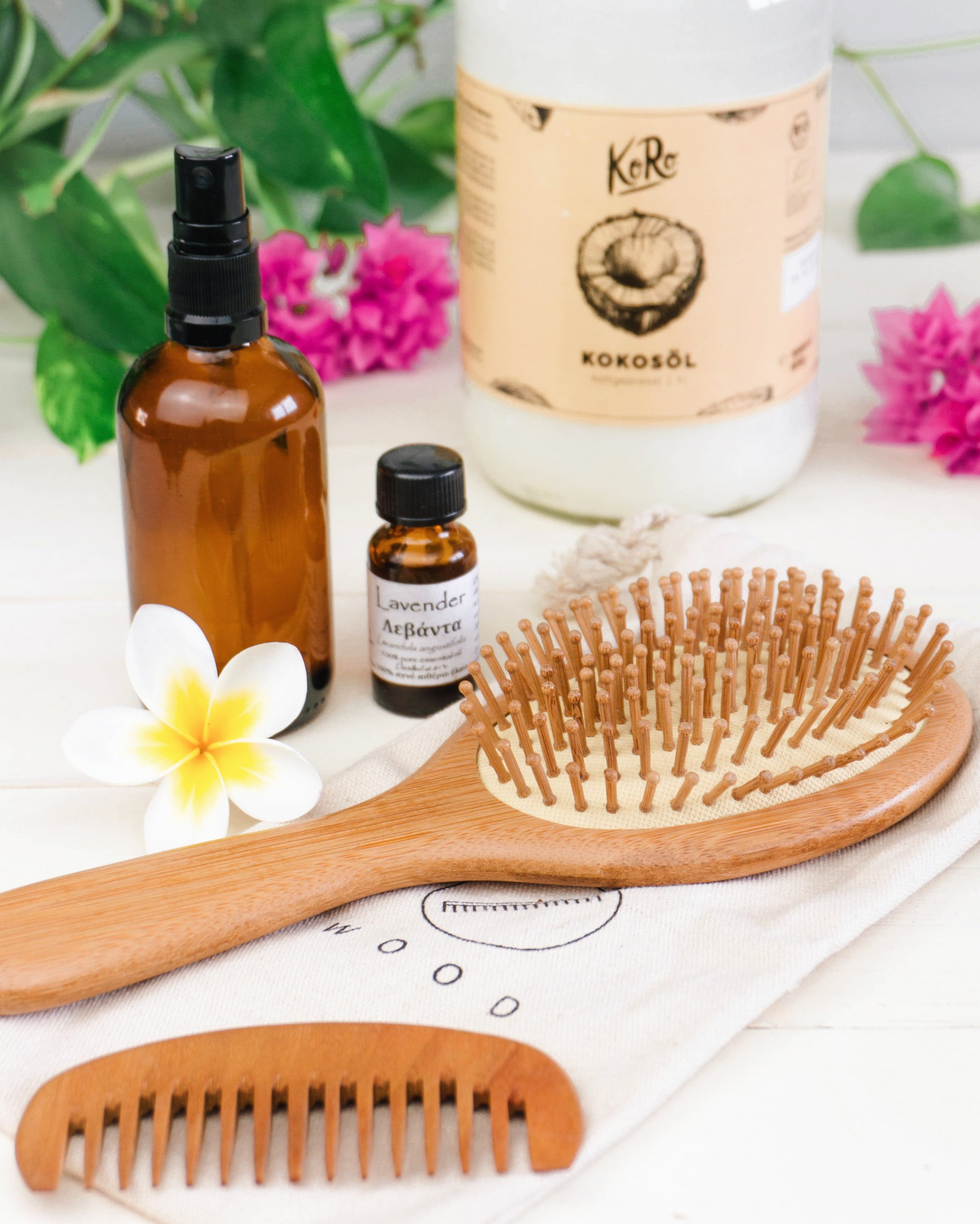 Zero Waste Hair Care Routine