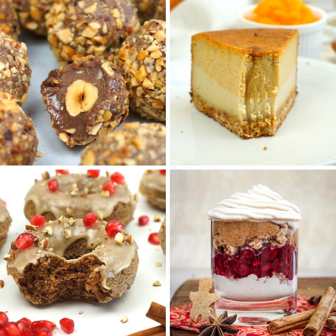 4 Vegan Christmas Desserts