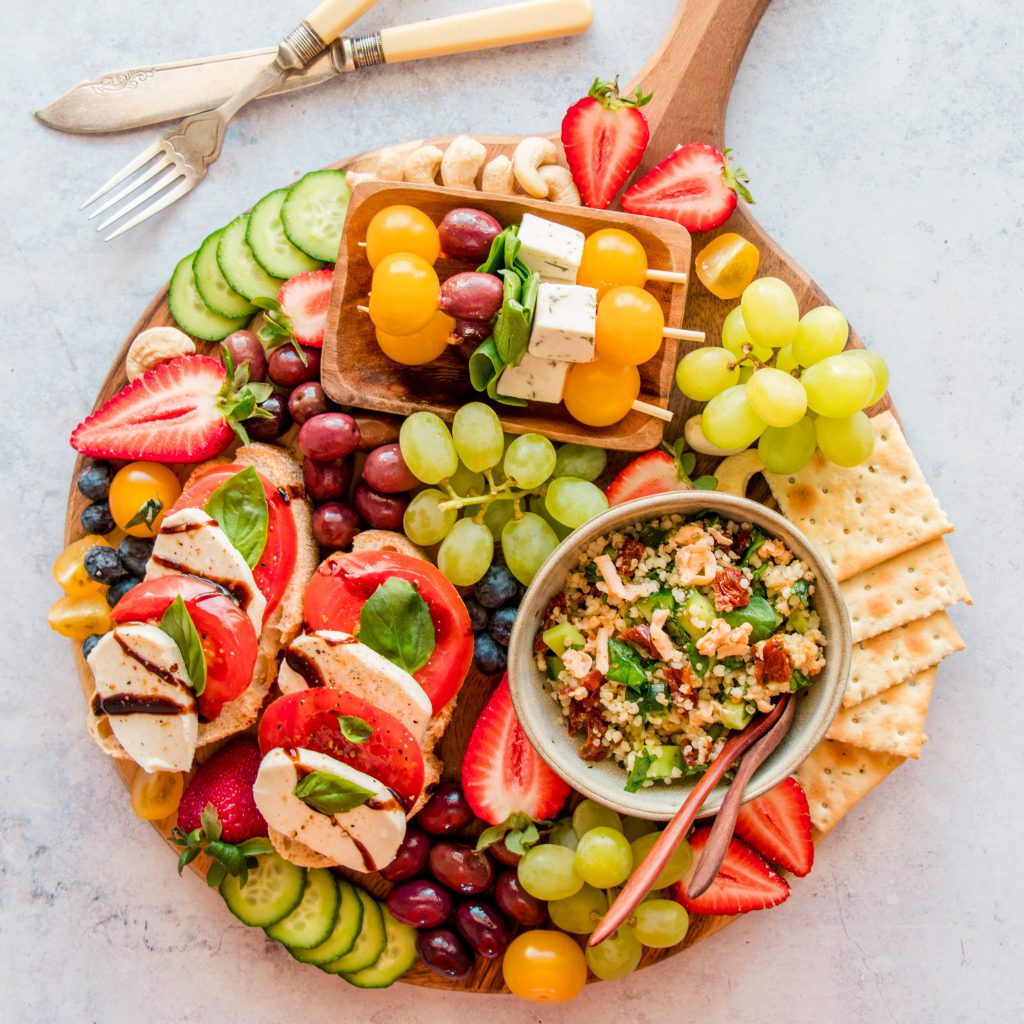 Vegan Antipasto Cheese Platter