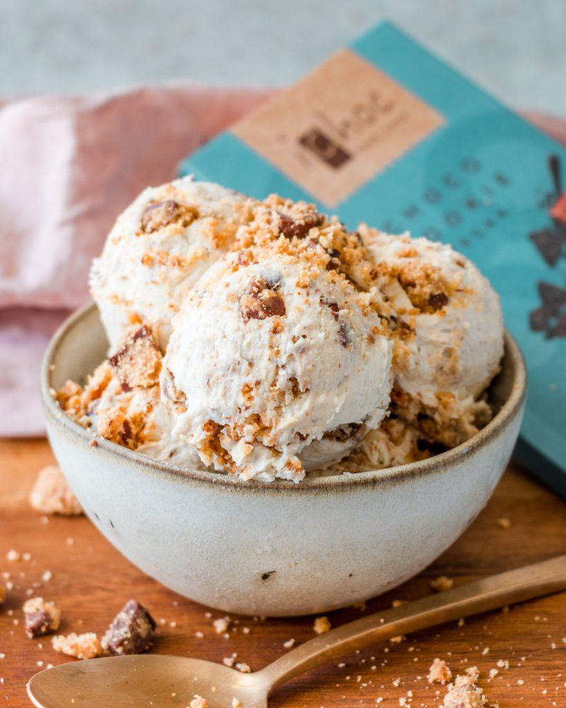 Chocolate Cookie Dough Ice Cream