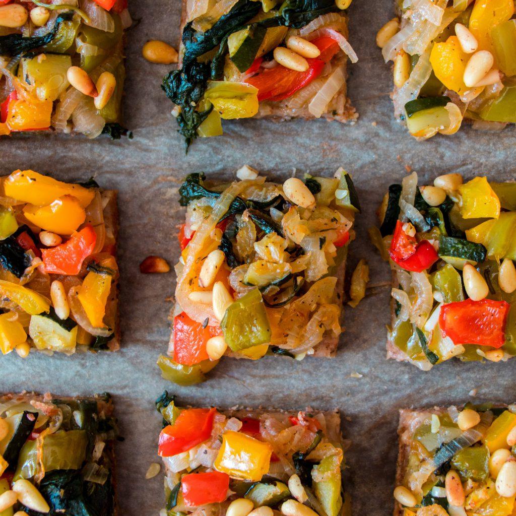 Vegetable Flatbread Tarte