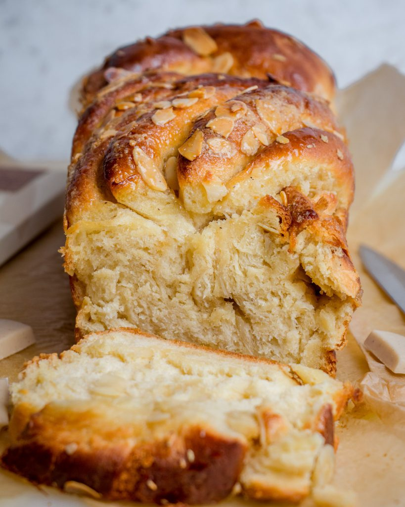 White Chocolate Babka