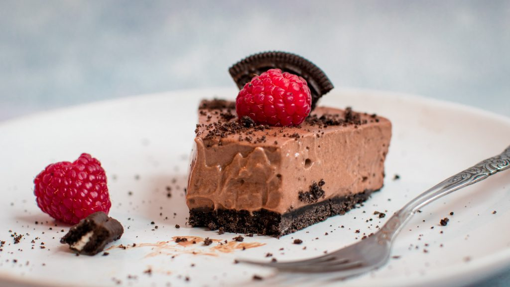 Chocolate Cookie Mousse Tart